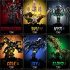 Eight New Character Movie Posters For 'The LEGO NINJAGO Movie'