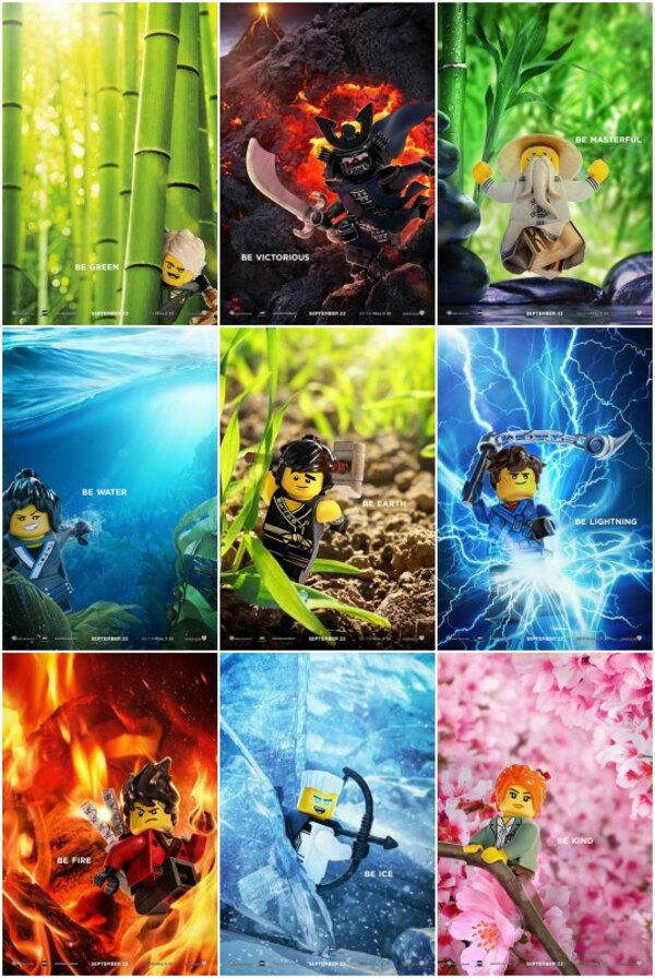 New Character Posters For u0026#39;The LEGO Ninjago Movie ...