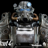 Fallout 4 T-45 Power Armor Collectible 1/6th Scale Figure From Threezero