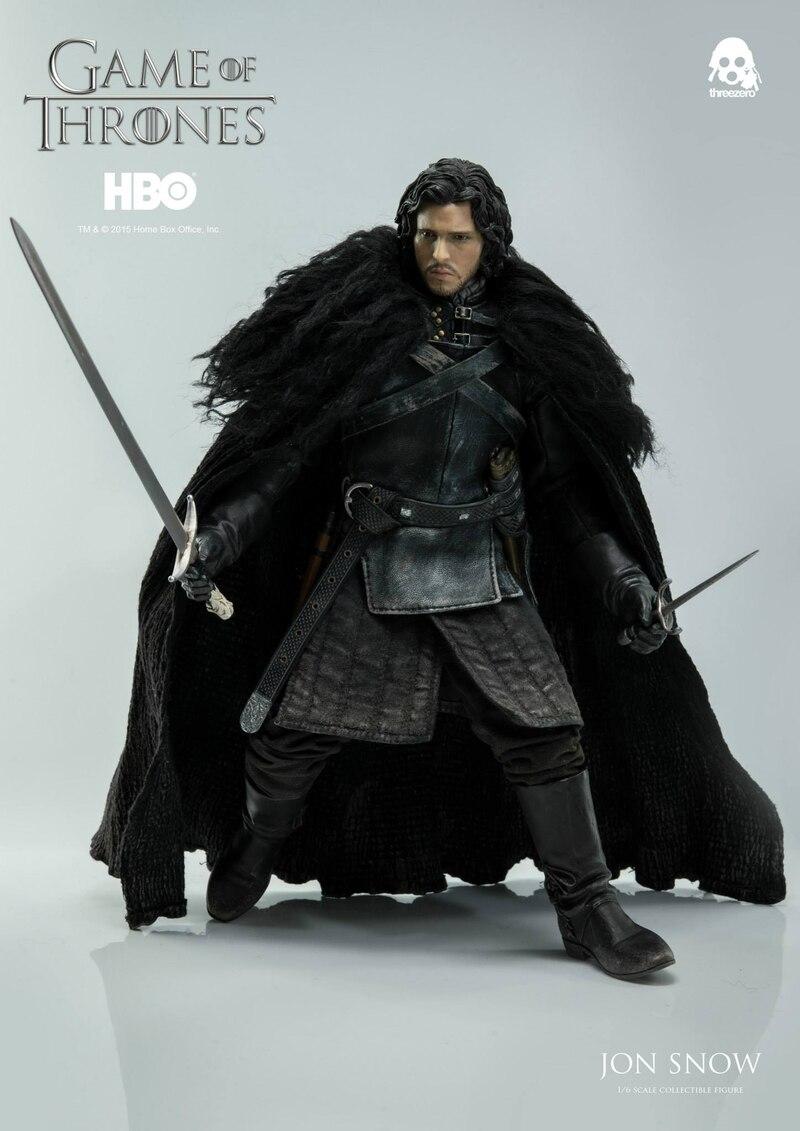 Custom 1//6 scale Jon Snow Head Sculpt of Game of Thrones