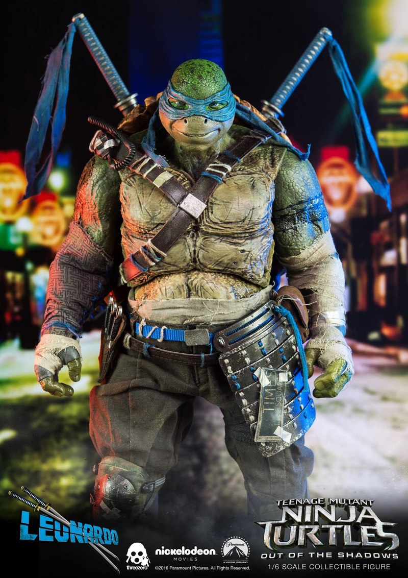 Teenage Mutant Ninja Turtles Out Of The Shadows 1 6 Scale Mikey