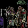 threezero 1:6 Scale TMNT Movie Raphael and Donatello Figures