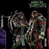 threezero 1:6 Scale TMNT Movie Raphael and Donatello Figures