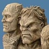 Marvel Mount: Heroes And Villains Bookends