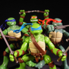 TMNT Movie Figures