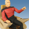 Star Trek 20th Anniversary Picard & Command Chair