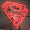Superman S-Shield Neon Sign