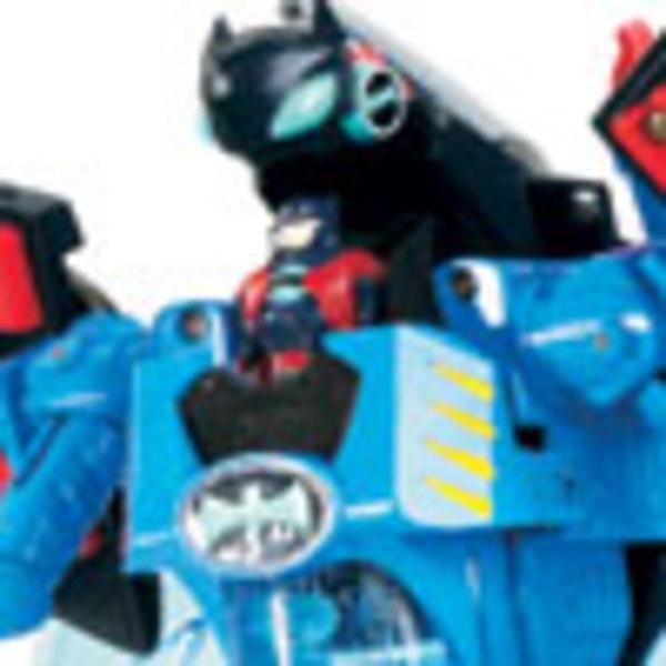 The Batman: Shadow Tek Batbots