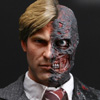 MMS81 - The Dark Knight - TWO-FACE / Harvey Dent Collectible Figure