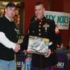 ENI At The Mix 107.3 Toys For Tots Broadcast