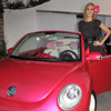 Volkswagen Creates Life-Size Pink New Beetle Convertible for Barbie 50th Birthday