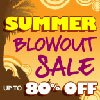 Entertainment Earth Summer Blowout Sale Ending Soon -  items up to 80% off!