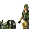 Target Exclusive GIJoe 25th Anniversary Vehicles