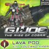 G.I.Joe Rise of Cobra Lava Pod  & Polar Sharc