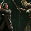 'The Clash of Kings' - Aragorn VS The King of the Dead Polystone Diorama