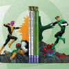 Green Lantern Vs. Sinestro Bookends