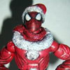 Santa Spidey By SonOfLongGreyBraid