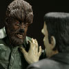 Frankenstein Meets the Wolf Man Diorama