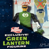Best Buy Exclusive Justice League: New Frontier DVD w/DCD Green Lantern Figure