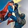Superman Vs. Darkseid Statue