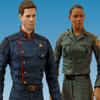Battlestar Galactica Apollo & Dualla Figure 2-Pack