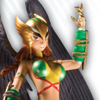 Ame-Comi Hawkgirl PVC Figure