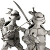 NECA Releases Images of TMNT Black & White Box Set Comic Con Exclusive