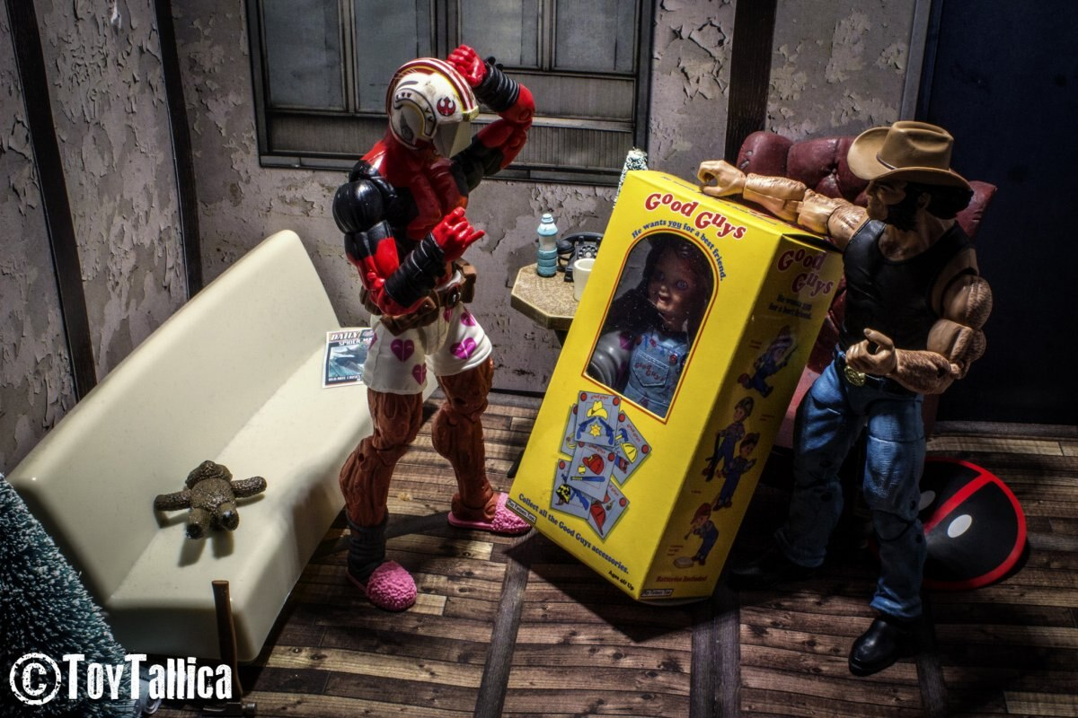 TNI Photo Of The Day - Childs Play On Christmas Morning By ToyTallica