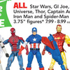 Buy 2 Action Figures Get 1 Free At TRU This Week - A Great Opportunity To Donate To Toys For Tots