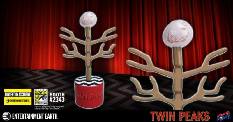 2018 SDCC Twin Peaks Evolution of the Arm Push Puppet and Signings!