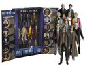 Doctor Who: Eleven Doctor Figure Set In Tardis Collector Box