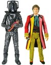 Doctor Who - Sixth Doctor & Stealth Cyberman Figures