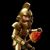 Ghosts 'n Goblins Game Classics Volume 01 EX Arthur Golden Armor Figure