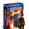 Justice League vs. Teen Titans Animated Movie Blu-ray/DVD/DHD Details